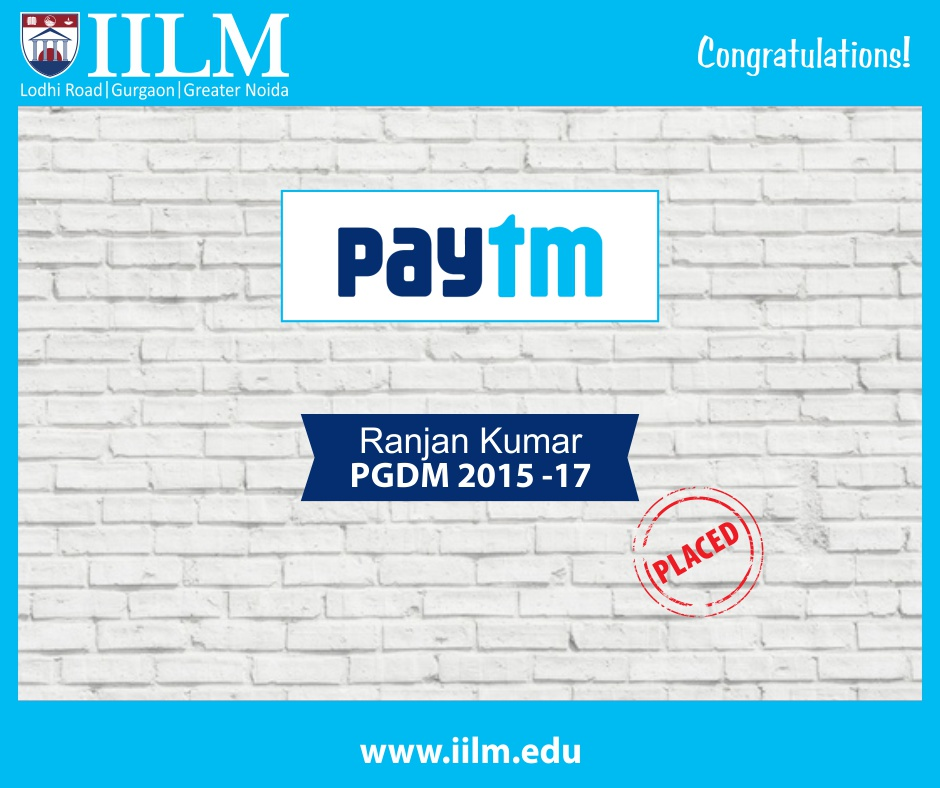 PayTM | Students Placed