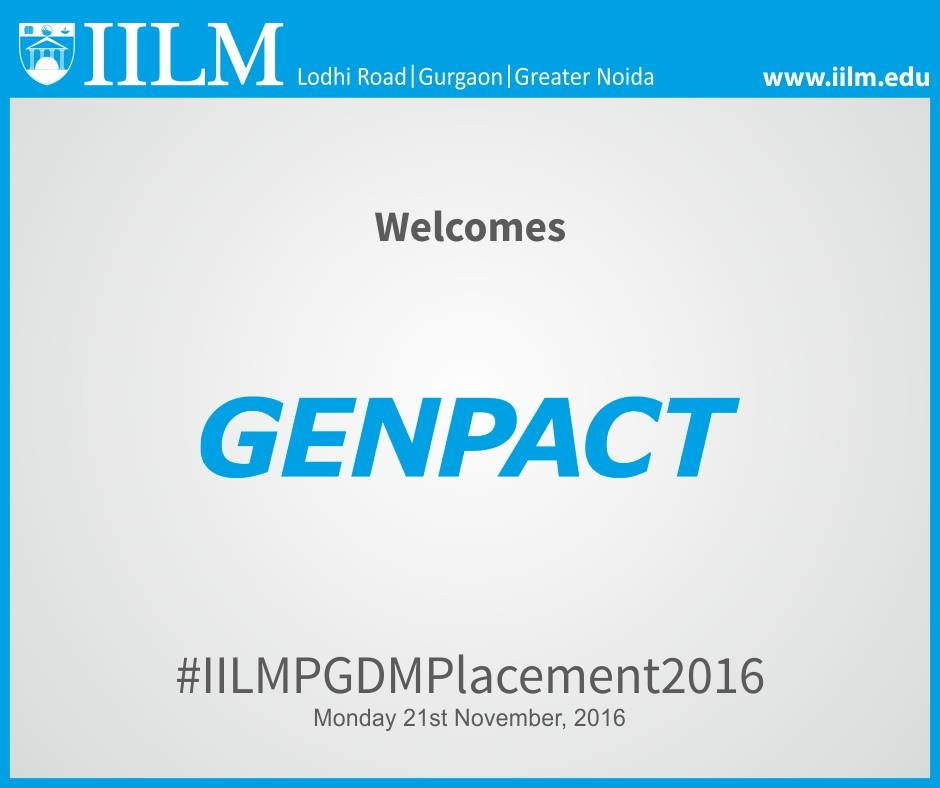 Genpact   Final Placement