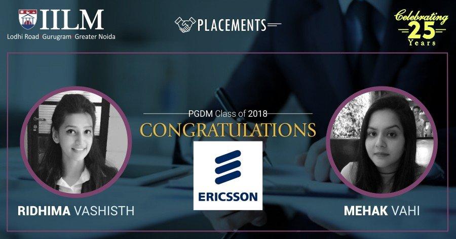 eRICSON-Placement-IILM
