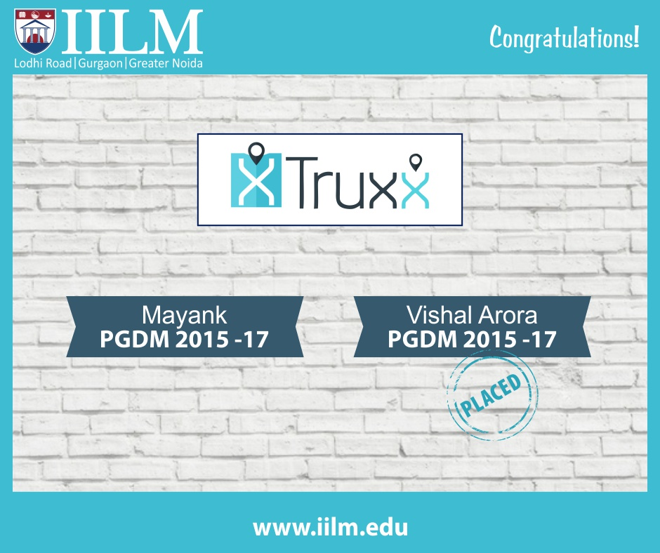 Truxx   Students Placed