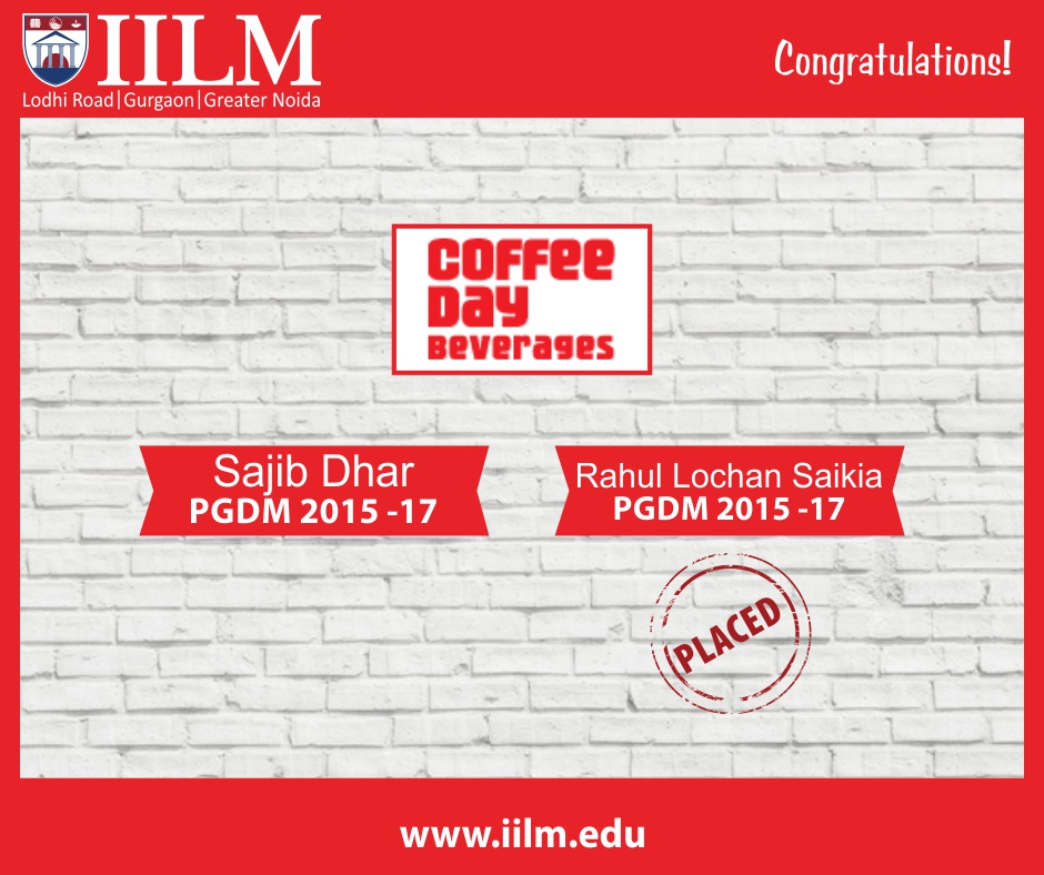 Cafe Coffee Day | Students Placed