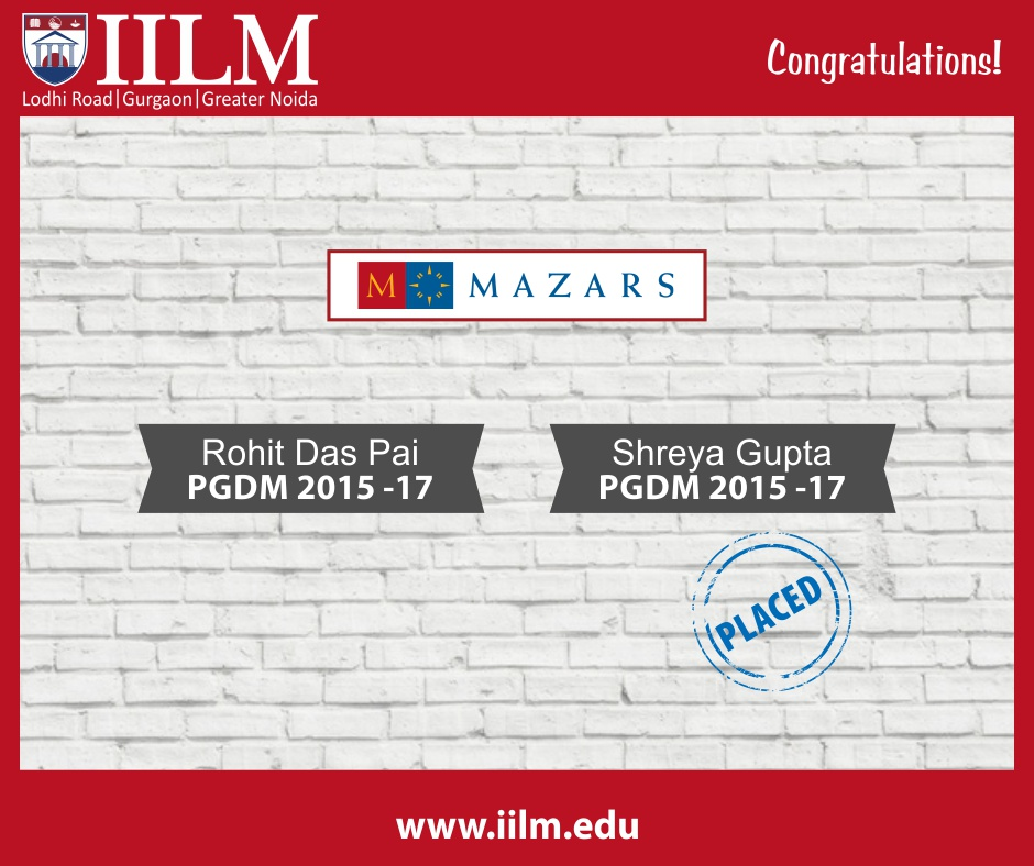 Mazars | Students Placed