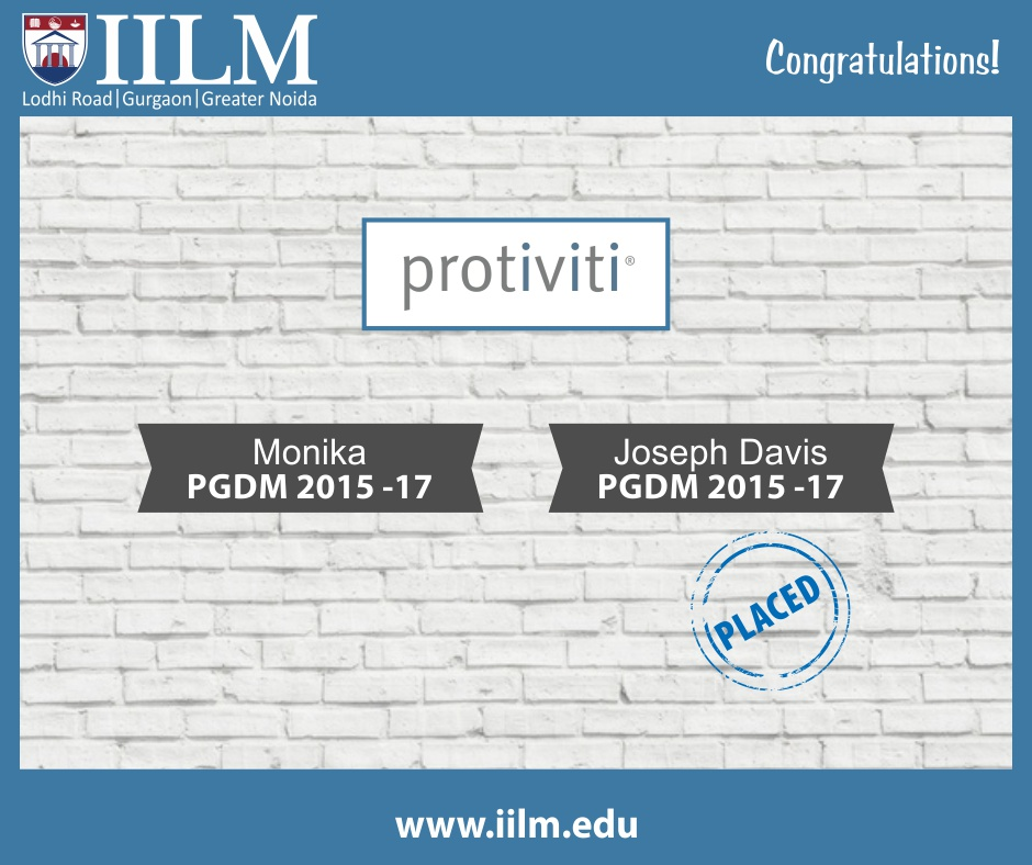 Protiviti | Students Placed