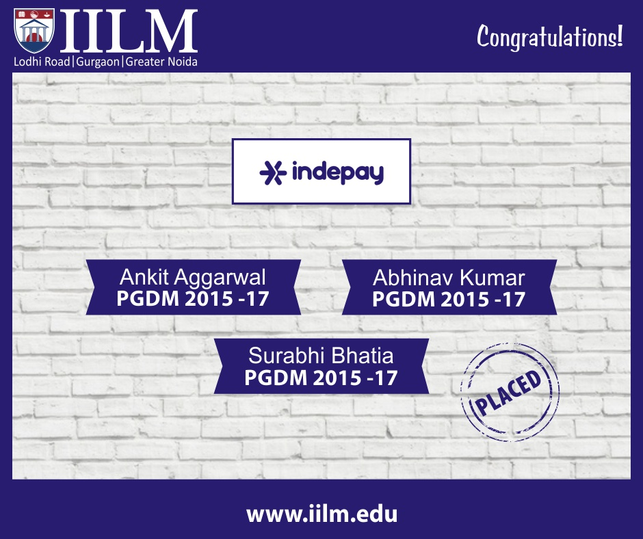 Indepay | Students Placed