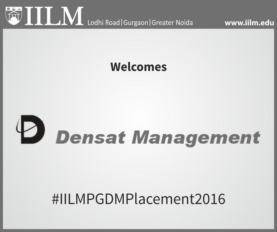 Companies on campus - Densat Management
