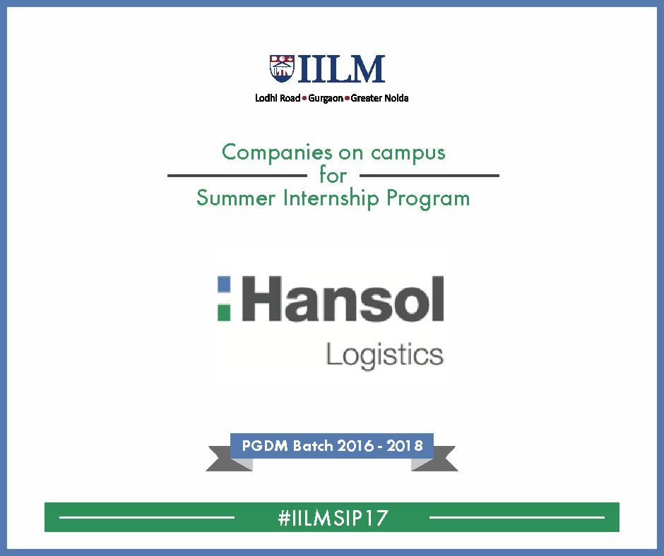 Hansol Logistics India