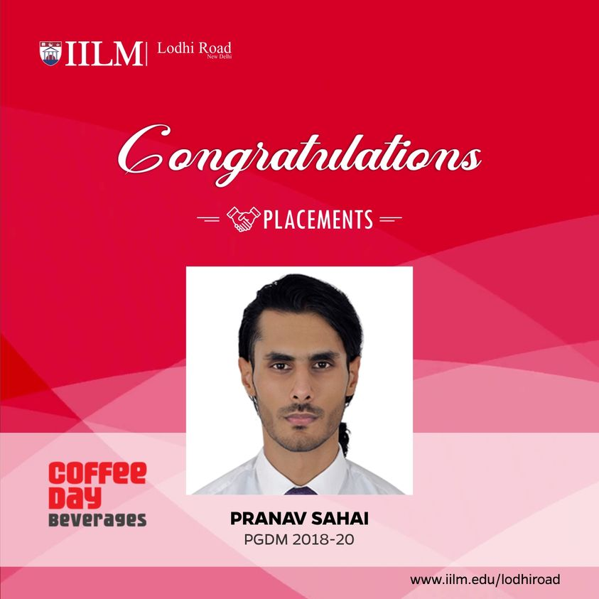 Placement at Coffee Day Beverages